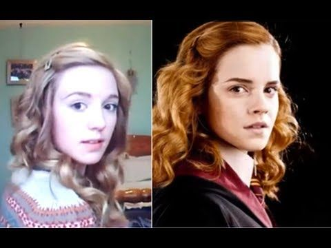 Hermione Granger Everyday Hair - YouTube