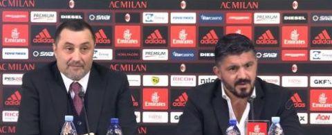 New Milan coach Gennaro Gattuso acknowledges he as a tough job on his hands