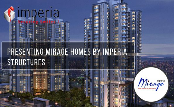 #imperia structure Brings #Mirage a Residential Projects provide three side open 3Bhk Flats. Mirage #homes Is a Acres (20234 sq.mt) Complex With 6 Residential Towers.