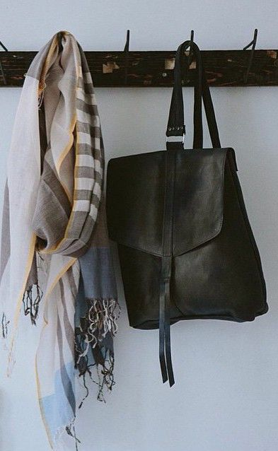 Yami Backpack by Raven + Lily. Locally-sourced Ethiopian leather.