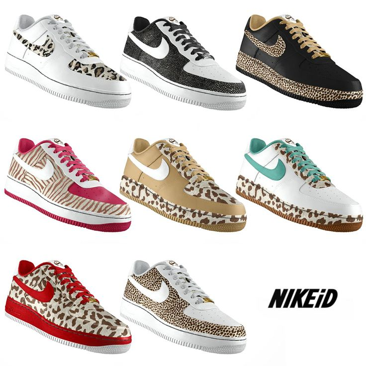 nike air force 1 animal