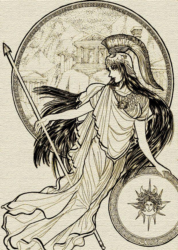 Athena by mmmmmr.deviantart.com on @deviantART