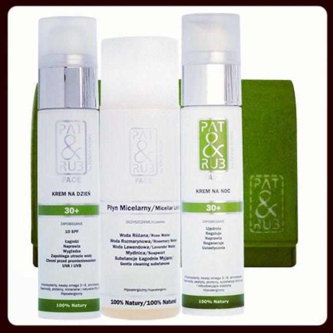 #nowoczesne, aktywne, naturalne #KREMY 30+ NA #DZIEŃ i NA #NOC do TWARZY I SZYI, zapobiegające oznakom starzenia, oraz #ŁAGODNY PŁYN #MICELARNY do tonizowania i demakijażu. 100% naturalnych składników. #kosmetyki w ekologicznej, filcowej kosmetyczce.