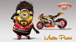 Los Minions llegan a Moto GP | MinionLander