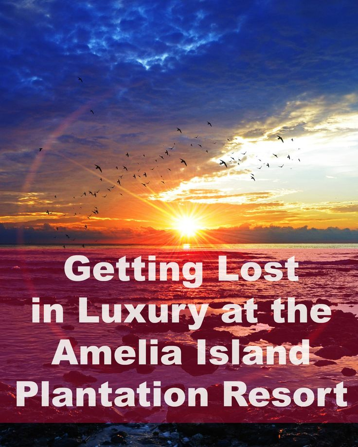 I had no idea how expansive the Amelia Island Plantation Resort was and all the stuff to do there. :-)