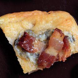 Blue Cheese-Bacon Focaccia | Recipe