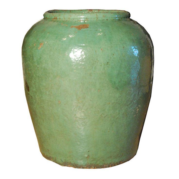 19th Century Chinese Celadon Glazed Urn | 1stdibs.com