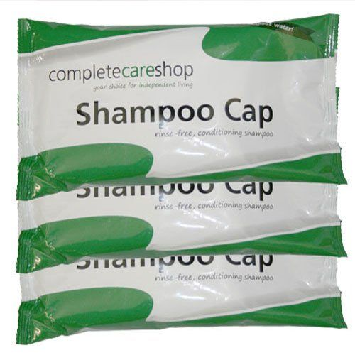 From 7.90:No Rinse Waterless Shampoo Caps - Pack Of 3