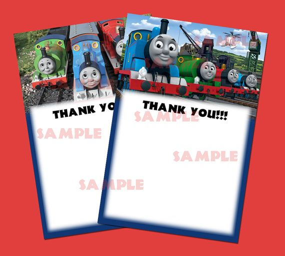 Best Thomas Images On Pinterest Thomas The Train Friends And - Birthday invitation card thomas and friends