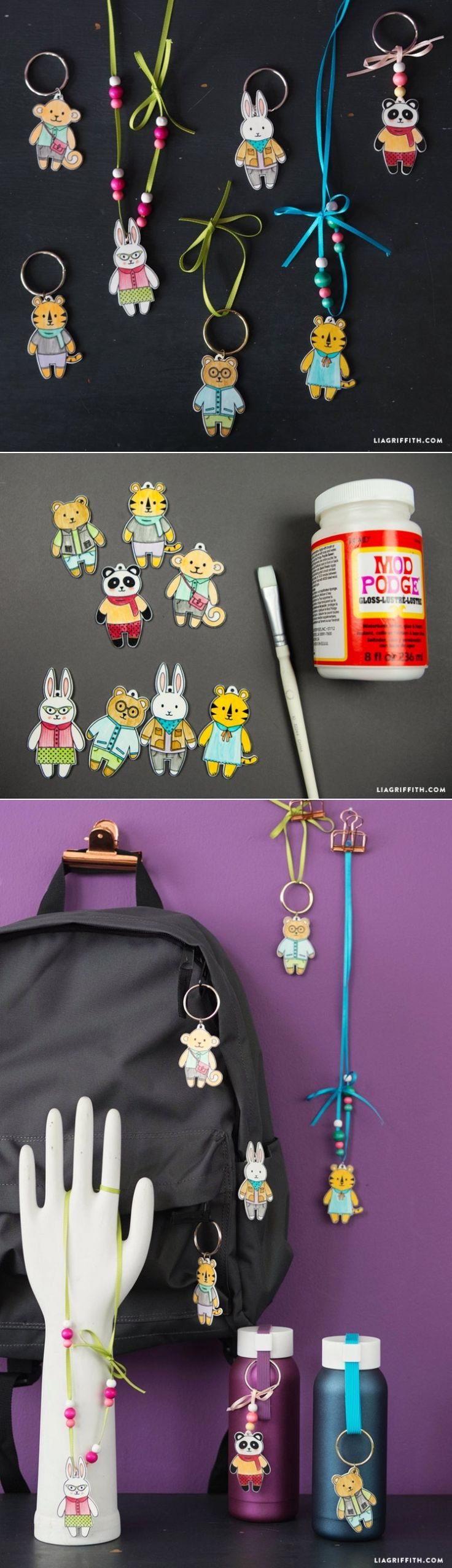Shrink Film Charms for Kids   What a fun kids' craft idea!