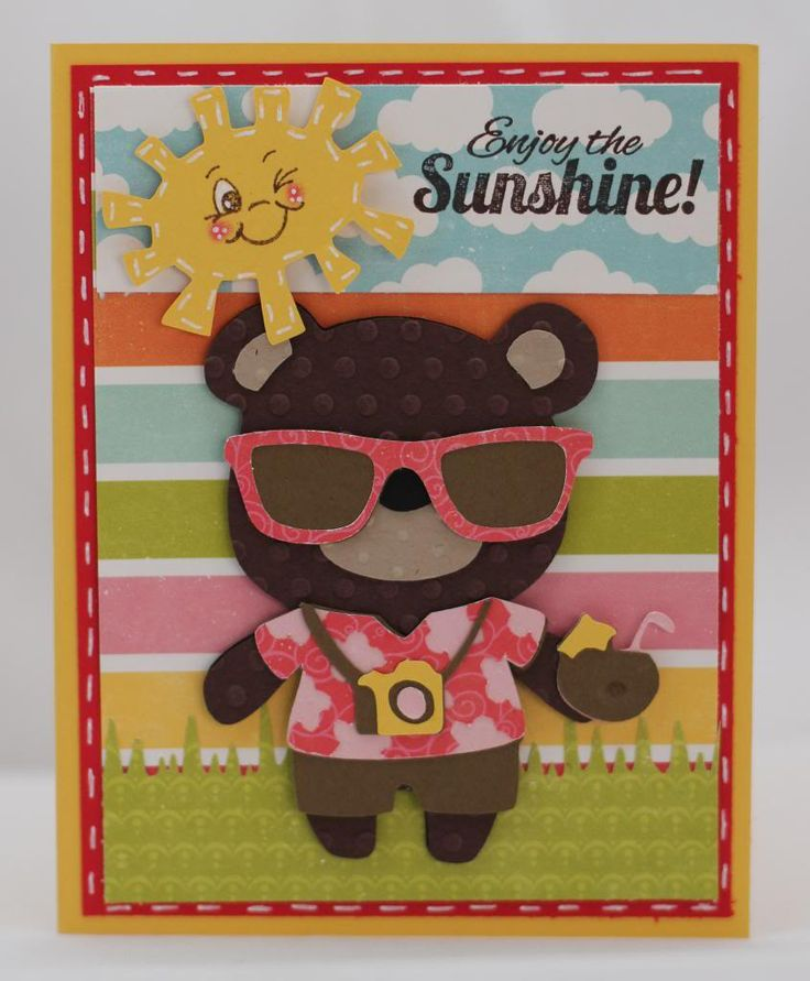 Enjoy the Sunshine (using Teddy Bear Parade and Doodlecharms) - Missy