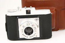 Agfa Isola, 6x6cm Rollfilmkamera mit Bereitschaftstasche