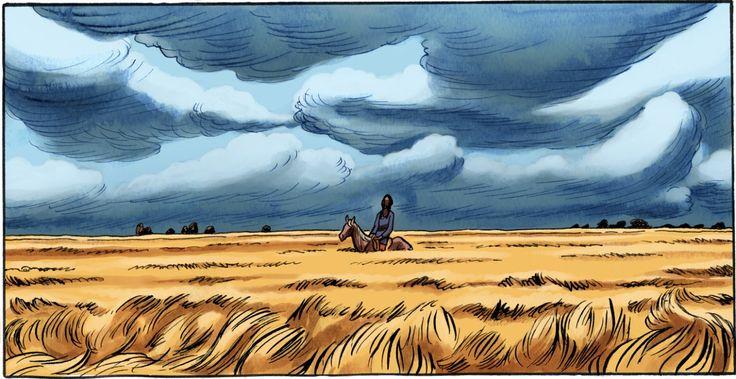 Frederik Peeters digital painting
