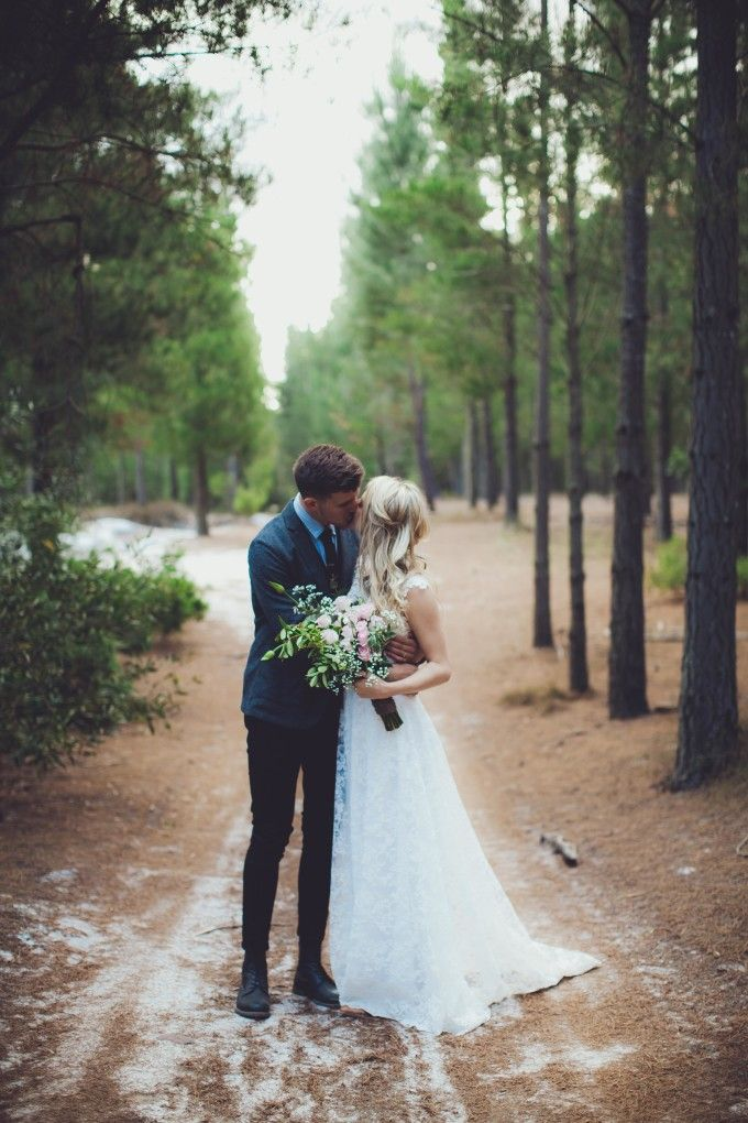 winter wonderland wedding south africa%0A A Magical Forest Wedding In The Elgin Valley  South Africa   http