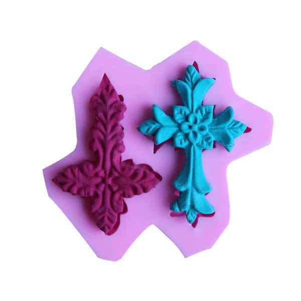 Cross Silicone Fandant Mold Chocolate Polymer Clay Mould  What does include #goodbuy:  Enjoyable shopping at cheapest prices Best quality goods 24/7 support & easy communication 1 day products dispatch from warehouse Fast & reliable shipment (7-25 business days)    Description: ...