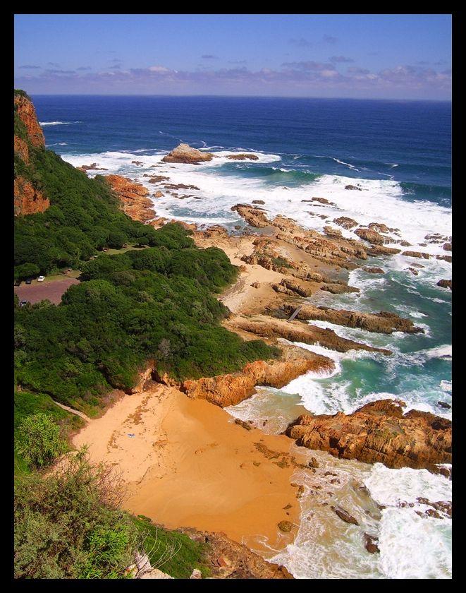 Knysna Beach near The Heads.  #travel #southafrica