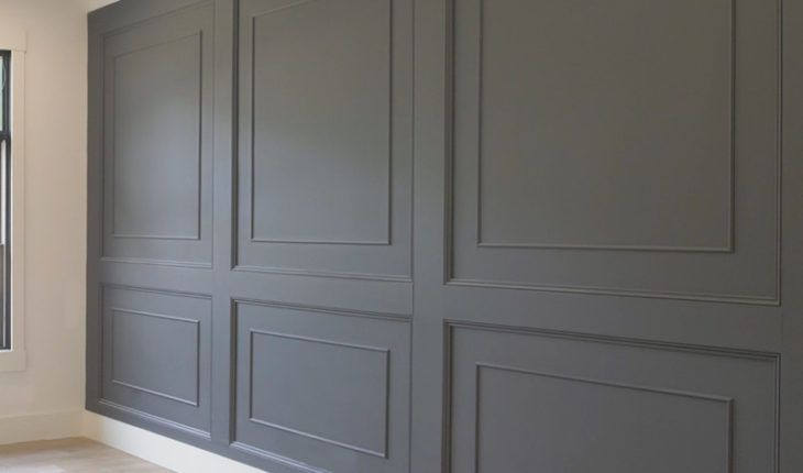 Double Raised Panel Feature Wall Raised Panel Walls Feature Wall Design Accent Wall