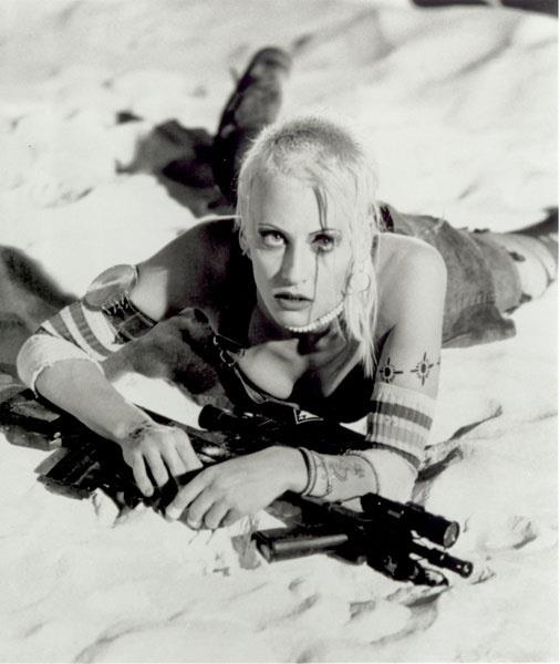 Lori Petty as Tank Girl