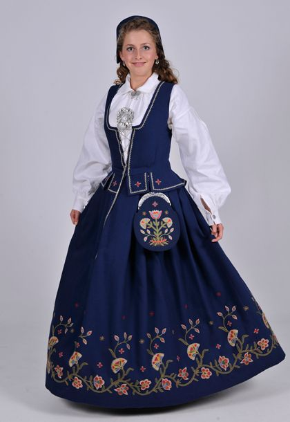 Vestoppland folk costume. I have this one.