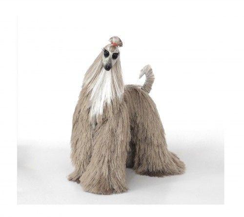 серебристо-бежевый Афган, милые плюшевые игрушки, миниатюрные собаки, плюшевые афганской существительное | AnnushkaHomeDecor - на ArtFire