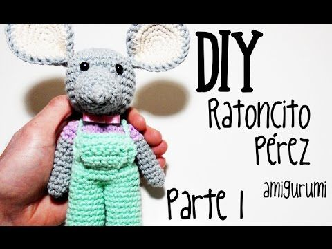 DIY Ratoncito Pérez Parte 1 amigurumi crochet/ganchillo (tutorial) - YouTube