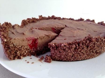 Healthy Chocolate Tart - Natural New Age Mum