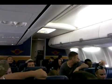 WATCH: Marine Interrupts Flight with Soulful Performance of 'Home' That Left Audience Moved & Then Cheering - - U.S. Marine Matt Bussen is returning from a military assignment, you are sure to experience the song in a whole new way...