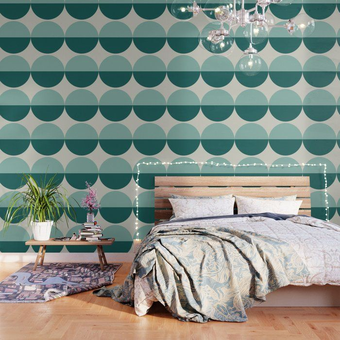 Buy Abstract Geometric 20 Wallpaper By Theoldartstudio Worldwide Shipping Available At Society6 Com Just Wallpaper Peel And Stick Wallpaper Pattern Wallpaper