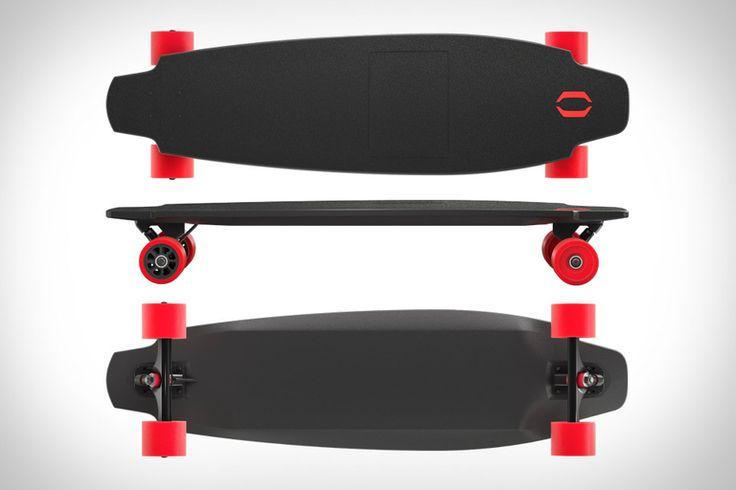 Inboard Monolith Skateboard x motorized x long board x regenerative braking