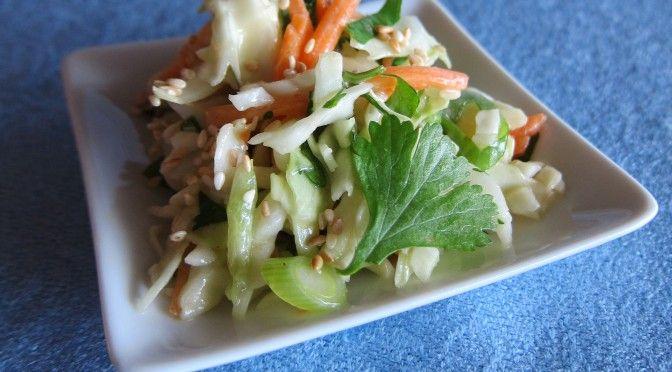 Creamy Asian Slaw | Dairy-Free: Veggie Lovin' | Pinterest