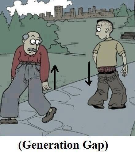 Funny cartoon - Generation Gap - http://jokideo.com/funny-cartoon-generation-gap/