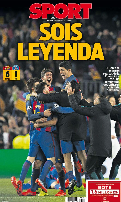 APOTEÓSICO: ¡El Barça remonta y está en cuartos!