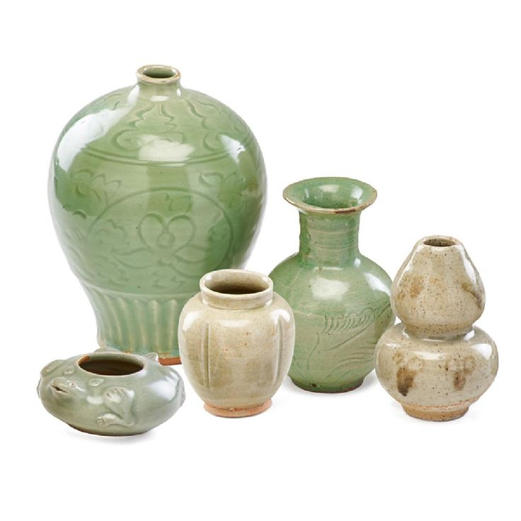 Lot: Korean Celadon Ceramics, Lot Number: 0301, Starting Bid: $150, Auctioneer: Rago Arts and Auction Center, Auction: Fine Art Auction , Date: May 6th, 2017 CDT