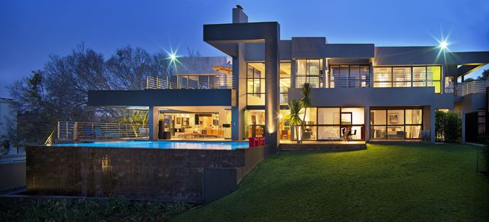 Modern Glass House Designed Around Three Massive Trees | http://www.designrulz.com/design/2013/06/modern-glass-house-designed-around-three-massive-trees/