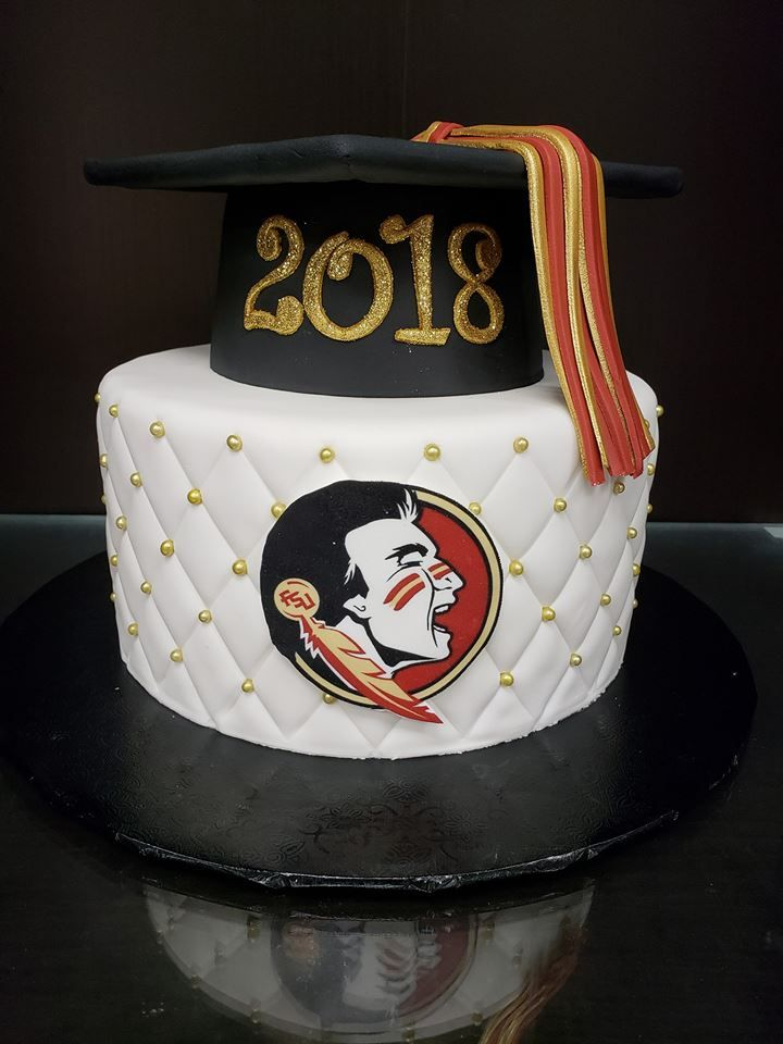 Fsu Graduation Cake Fsu Graduation Graduation Party Decor