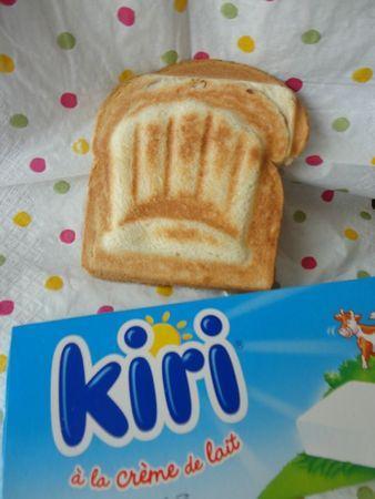 Découvrez la recette du croque monsieur au #kiri ! Parfait pour petits et grands gourmands ! Testé.