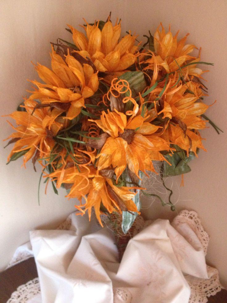 Lovely paper sunflowers