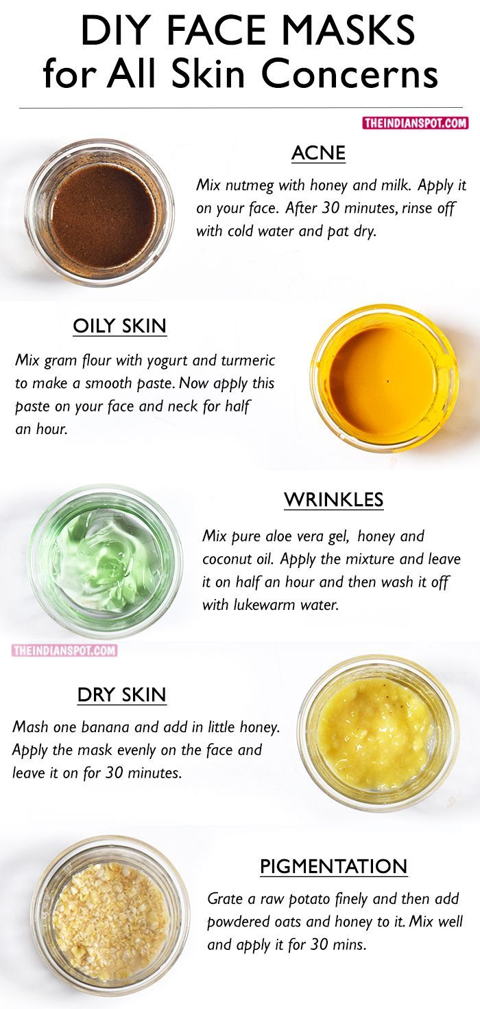 Healthy facial mixtures