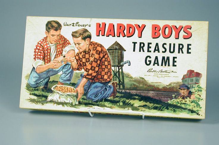 104.216: Walt Disney's Hardy Boys Treasure Game | board game | Board Games | Games | Online Collections | The Strong