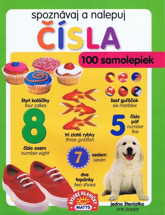 Paperback: Čísla - spoznávaj a nalepuj (autor neuvedený) | bux.sk