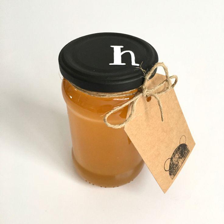 M-es méretű Basic csomagolás - hársméz - honey Basic package design - linden honey
