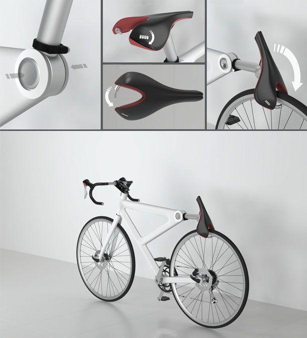 Red Dot Award Design Concept 2012 - Saddle Lock