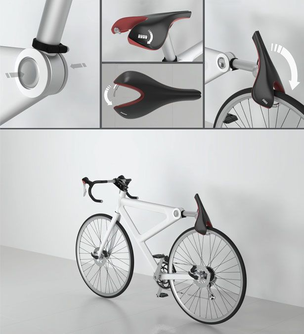 Red Dot Award Design Concept 2012 - Saddle Lock