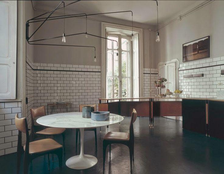 Milan apartment kitchen : Dimore Studio
