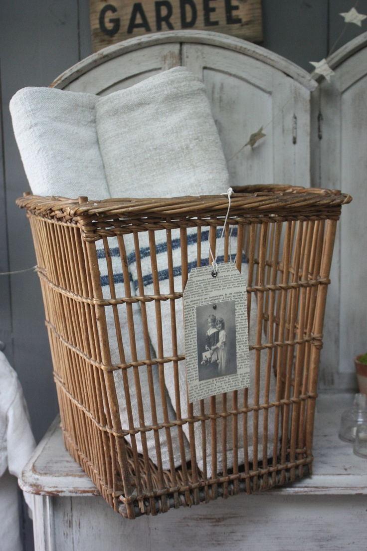 469 best Baskets, boxes and crates images on Pinterest | Layette ...