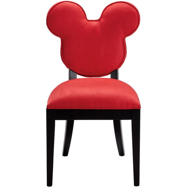 Mickey Everywhere Chair, Quick Ship ❤ liked on Polyvore featuring home, furniture, chairs, mickey mouse chair, disney chair, ship furniture, mickey mouse furniture and disney furniture