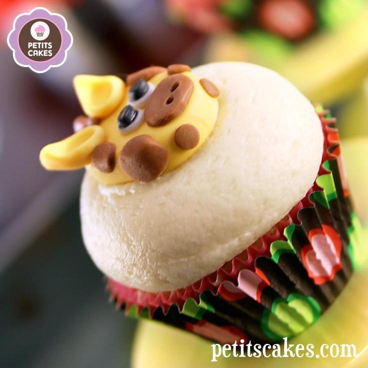 Petits Cakes - Zoo Animals Cupcakes / Cupcakes animaux de Zoo - Girafe
