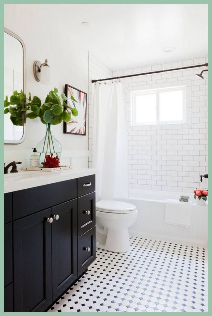 How To Install A Freestanding Bathroom Vanity Against A Wall Freestanding Vanities Are A Logical Choice Bathrooms Remodel Diy Bathroom Remodel Small Bathroom