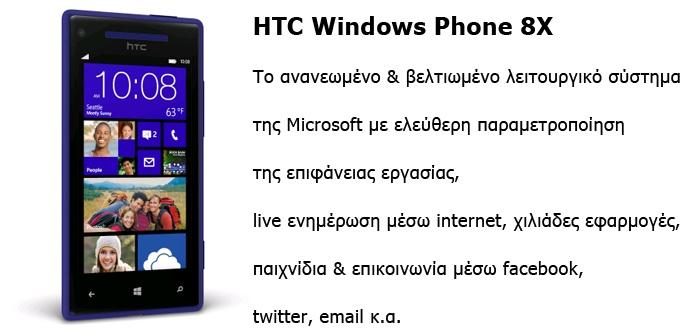 Το πρώτο τηλέφωνο με Windows 8x