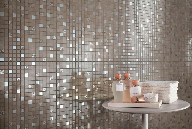 В современном по дизайну интерьере изумительная поверхность керамогранита DWELL ярко выделяется своей глянцевой и мягкой на ощупь